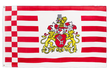 Bremen with crest 3x5 ft Flag