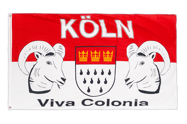 Cologne Viva Colonia - 3x5 ft Flag