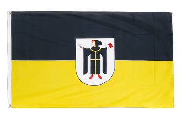 Munich with crest - 3x5 ft Flag