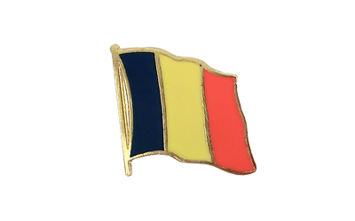 Rumania Flag Lapel Pin