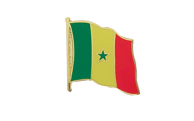 Senegal - Flag Lapel Pin