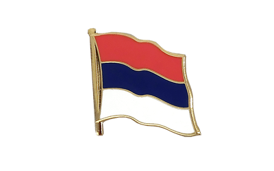 Serbia Flag Lapel Pin