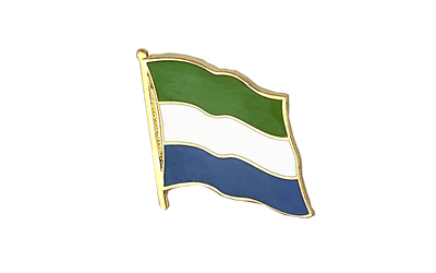 Sierra Leone - Flag Lapel Pin