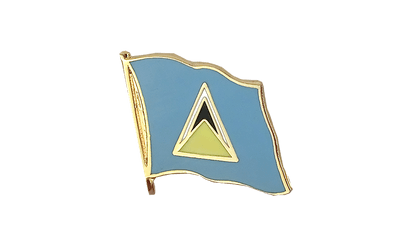 Saint Lucia - Flag Lapel Pin