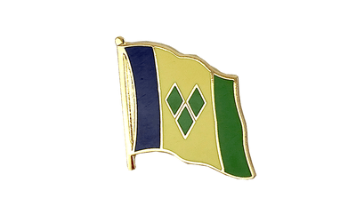 Saint Vincent and the Grenadines Flag Lapel Pin
