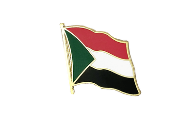 Sudan Flag Lapel Pin
