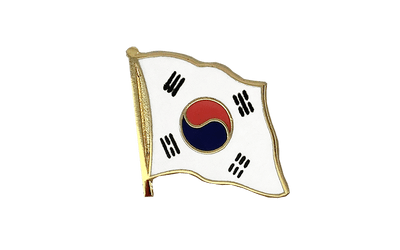 South Korea - Flag Lapel Pin