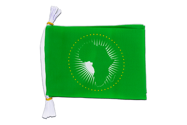 "African Union AU Mini Flag Bunting 6x9"", 3 m"