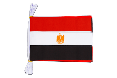 "Egypt - Mini Flag Bunting 6x9"", 3 m"