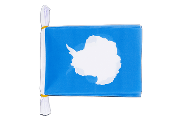 "Antarctic Mini Flag Bunting 6x9"", 3 m"