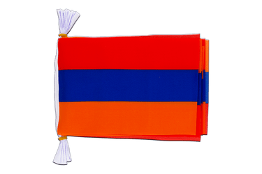 "Armenia Mini Flag Bunting 6x9"", 3 m"