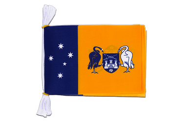 "Australia Capital Territory - Mini Flag Bunting 6x9"", 3 m"