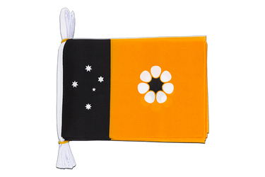 "Australia Northern Territory Mini Flag Bunting 6x9"", 3 m"