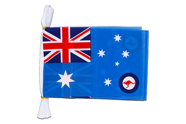 Mini Guirlande fanion Australie Royal Australian Air Force 15 x 22 cm, 3 m