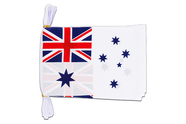 "Australia Royal Australian Navy Mini Flag Bunting 6x9"", 3 m"