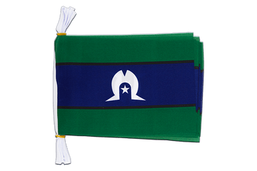 "Australia Torres Strait Islands Mini Flag Bunting 6x9"", 3 m"