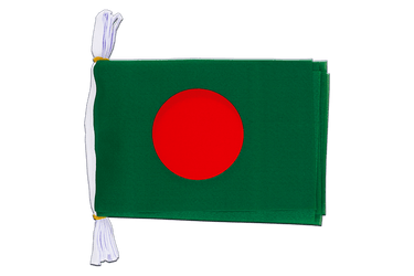 "Bangladesh Mini Flag Bunting 6x9"", 3 m"