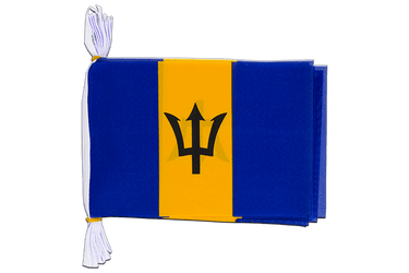 "Barbados Mini Flag Bunting 6x9"", 3 m"