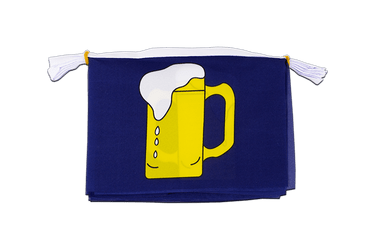 "Beer Mini Flag Bunting 6x9"", 3 m"