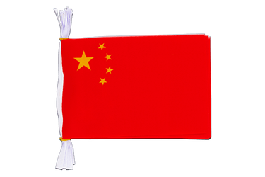 "China - Mini Flag Bunting 6x9"", 3 m"