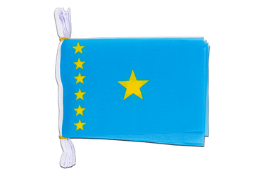 "Democratic Republic of the Congo old Flag Bunting 6x9"", 3 m"