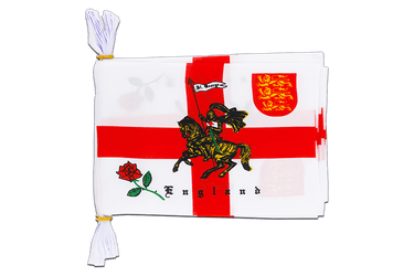 "England with knight Flag Bunting 6x9"", 3 m"