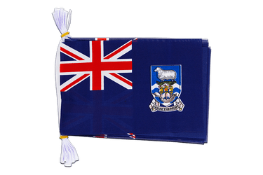 "Falkland Islands - Mini Flag Bunting 6x9"", 3 m"