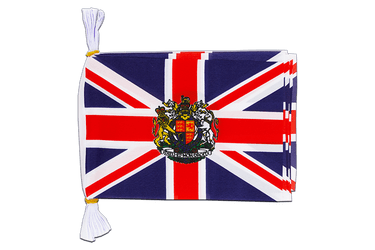 "Great Britain with crest Mini Flag Bunting 6x9"", 3 m"