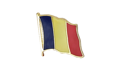 Chad - Flag Lapel Pin