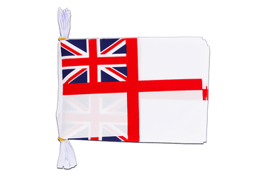 "Great Britain Naval Ensign of the White Squadron  Bunting 6x9"", 3 m"