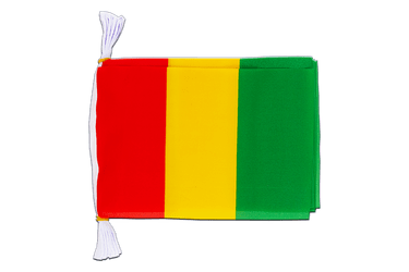 "Guinea Flag Bunting 6x9"", 3 m"