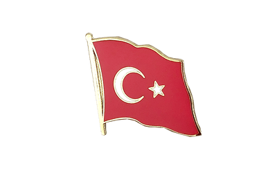 Turkey Flag Lapel Pin