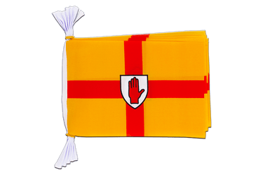 "Ireland Ulster Mini Flag Bunting 6x9"", 3 m"