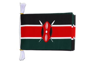 "Kenya Mini Flag Bunting 6x9"", 3 m"
