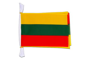 "Lithuania Mini Flag Bunting 6x9"", 3 m"