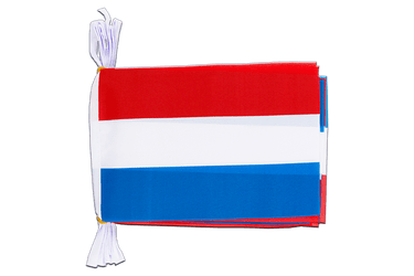 "Luxembourg Flag Bunting 6x9"", 3 m"