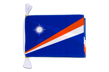"Marshall Islands Flag Bunting 6x9"", 3 m"