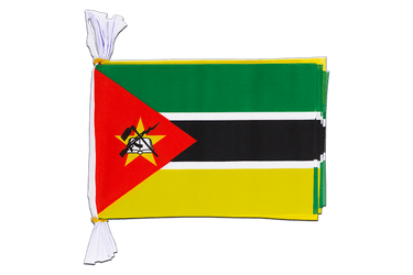 "Mozambique Mini Flag Bunting 6x9"", 3 m"