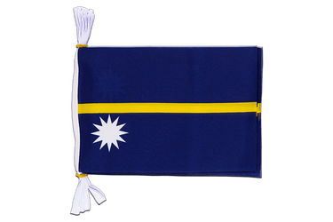 "Nauru - Mini Flag Bunting 6x9"", 3 m"