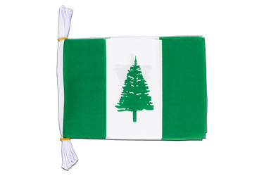 "Norfolk Islands Flag Bunting 6x9"", 3 m"