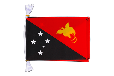 "Papua New Guinea Flag Bunting 6x9"", 3 m"