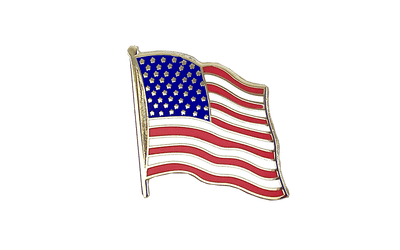 USA Flaggen Pin 2 x 2 cm