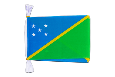"Solomon Islands Mini Flag Bunting 6x9"", 3 m"