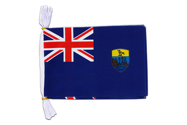 "Saint Helena Mini Flag Bunting 6x9"", 3 m"