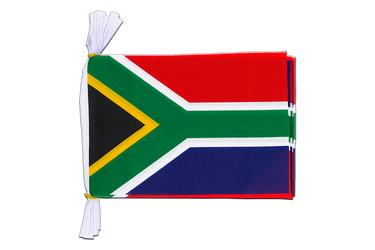 "South Africa - Mini Flag Bunting 6x9"", 3 m"