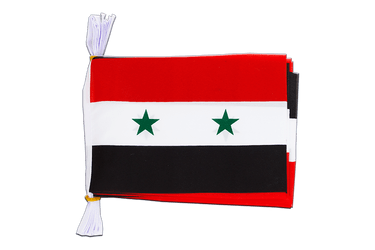 "Syria - Mini Flag Bunting 6x9"", 3 m"