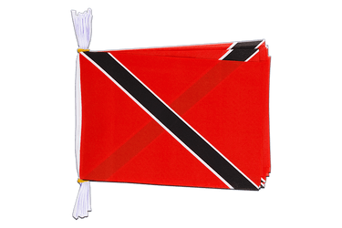 "Trinidad and Tobago Flag Bunting 6x9"", 3 m"