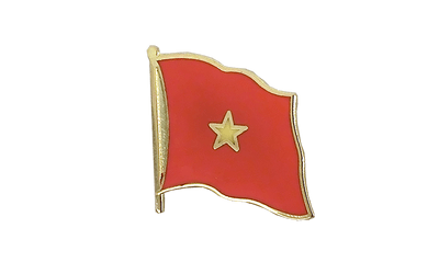 Vietnam - Flag Lapel Pin