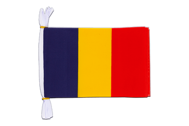 "Chad - Mini Flag Bunting 6x9"", 3 m"