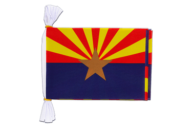 USA Arizona Fahnenkette 15 x 22 cm, 3 m